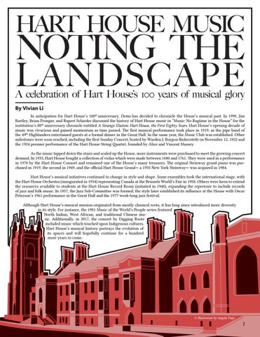 Page 7 of Hart House Music: Noting the Landscape—by Vivian Li