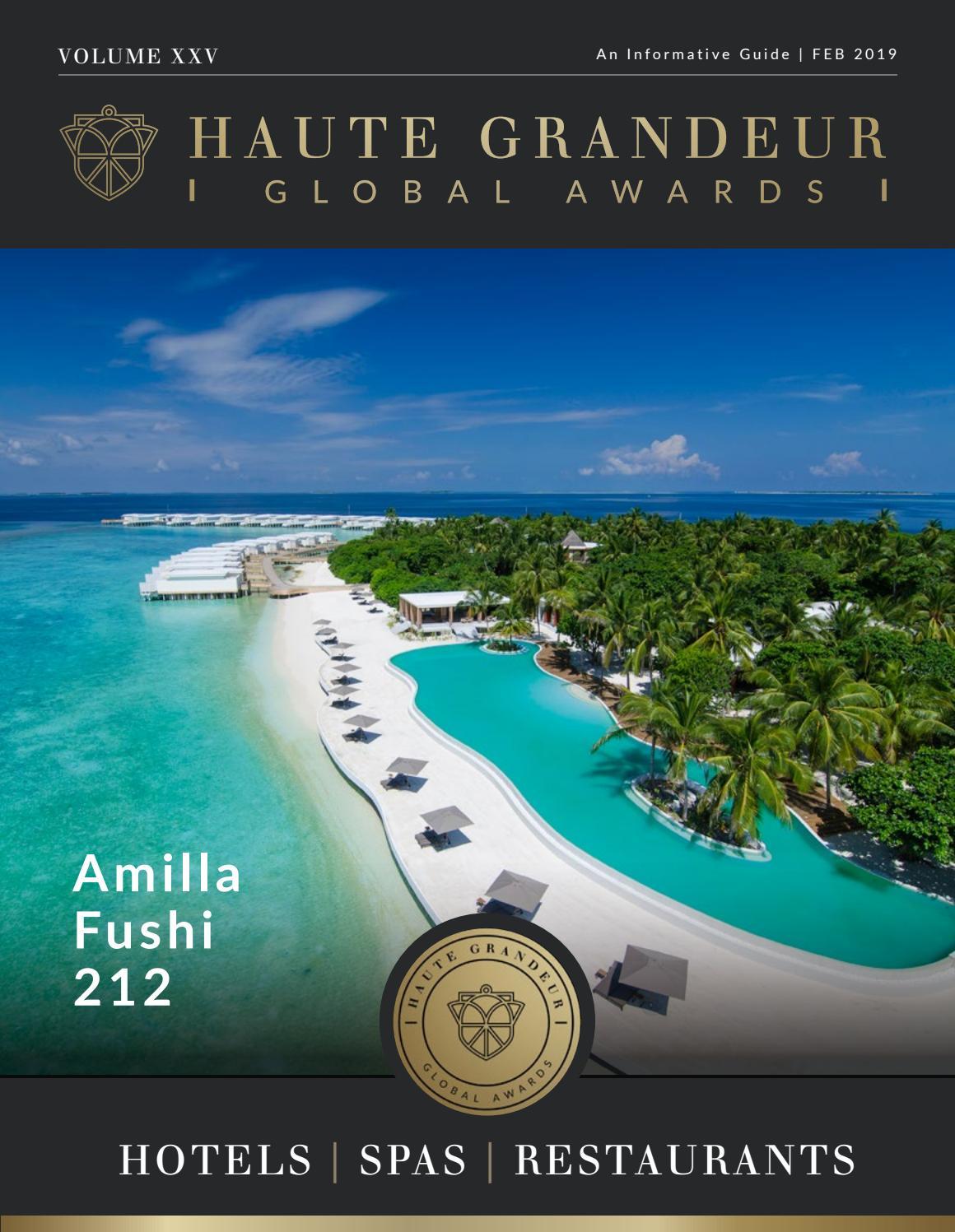 Haute Grandeur, The Best in Hotels, Spas and Restaurants