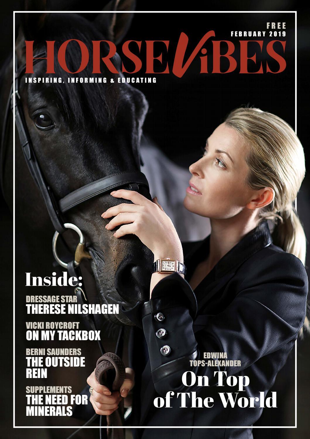 Horse Vibes Magazine - February 2019 by HorseVibes - issuu