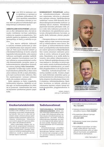 Page 15 of Uudistuksia opin tiellä