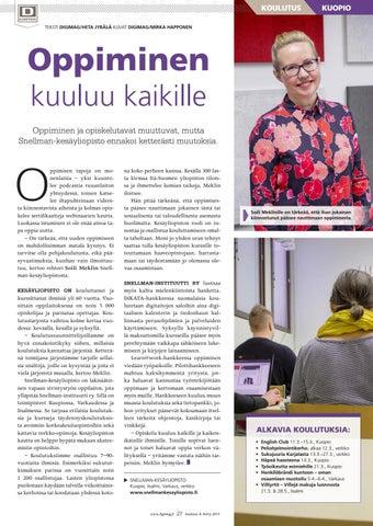 Page 27 of Oppiminen kuuluu kaikille