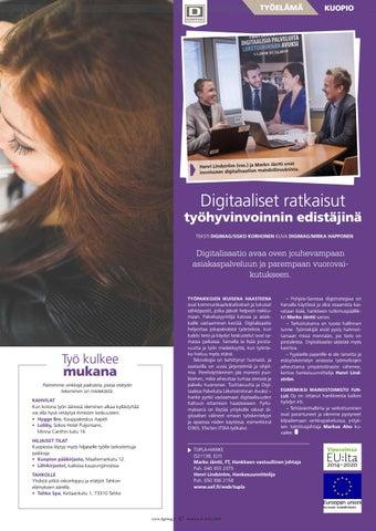 Page 47 of Digitaaliset ratkaisut työhyvinvoinnin edistäjinä
