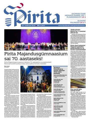 e0845c63079 Pirita ajaleht 22. veebruar 2019 by Piritalinnaosavalitsus - issuu