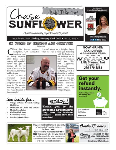 Chase Sunflower - February 22nd, 2019 by Chase Sunflower - issuu
