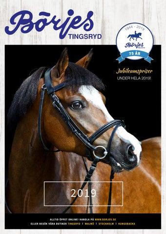 on sale 9a43a f0b02 Börjes katalog 2019 by Börjes Tingsryd Hästsport - issuu