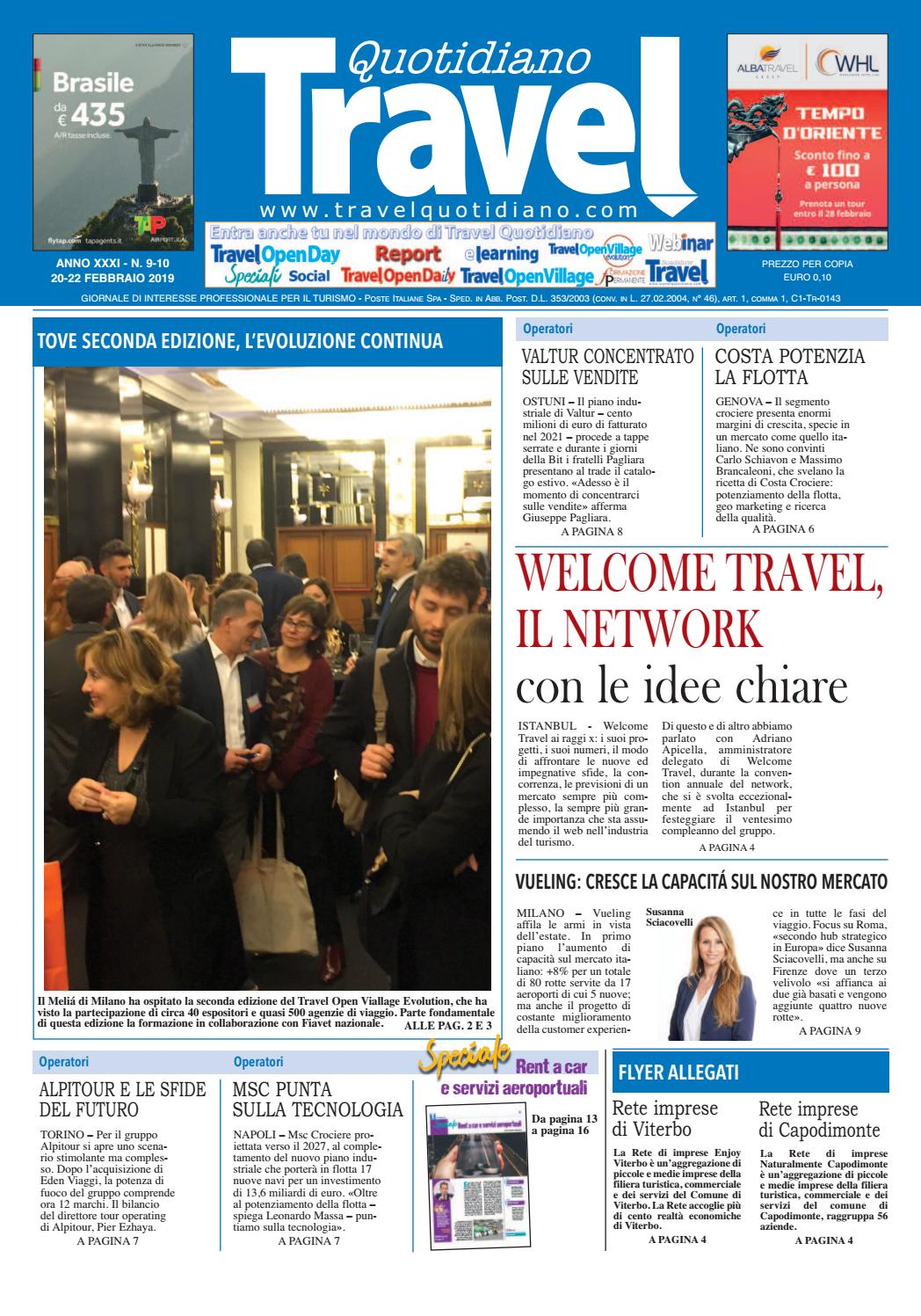 5b85aed3cf travel-quotidiano-20-22-febbraio-2019 by TravelQuotidiano.com - issuu