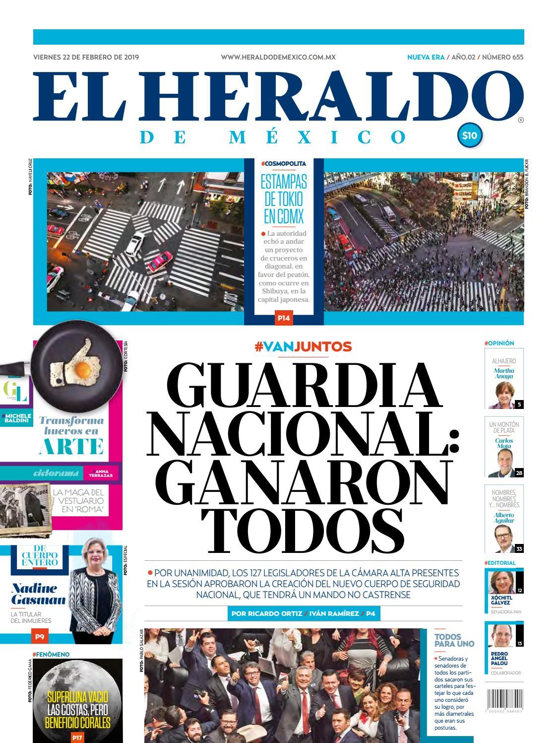 a0a1ea1a5 22 de febrero de 2019 by El Heraldo de México - issuu