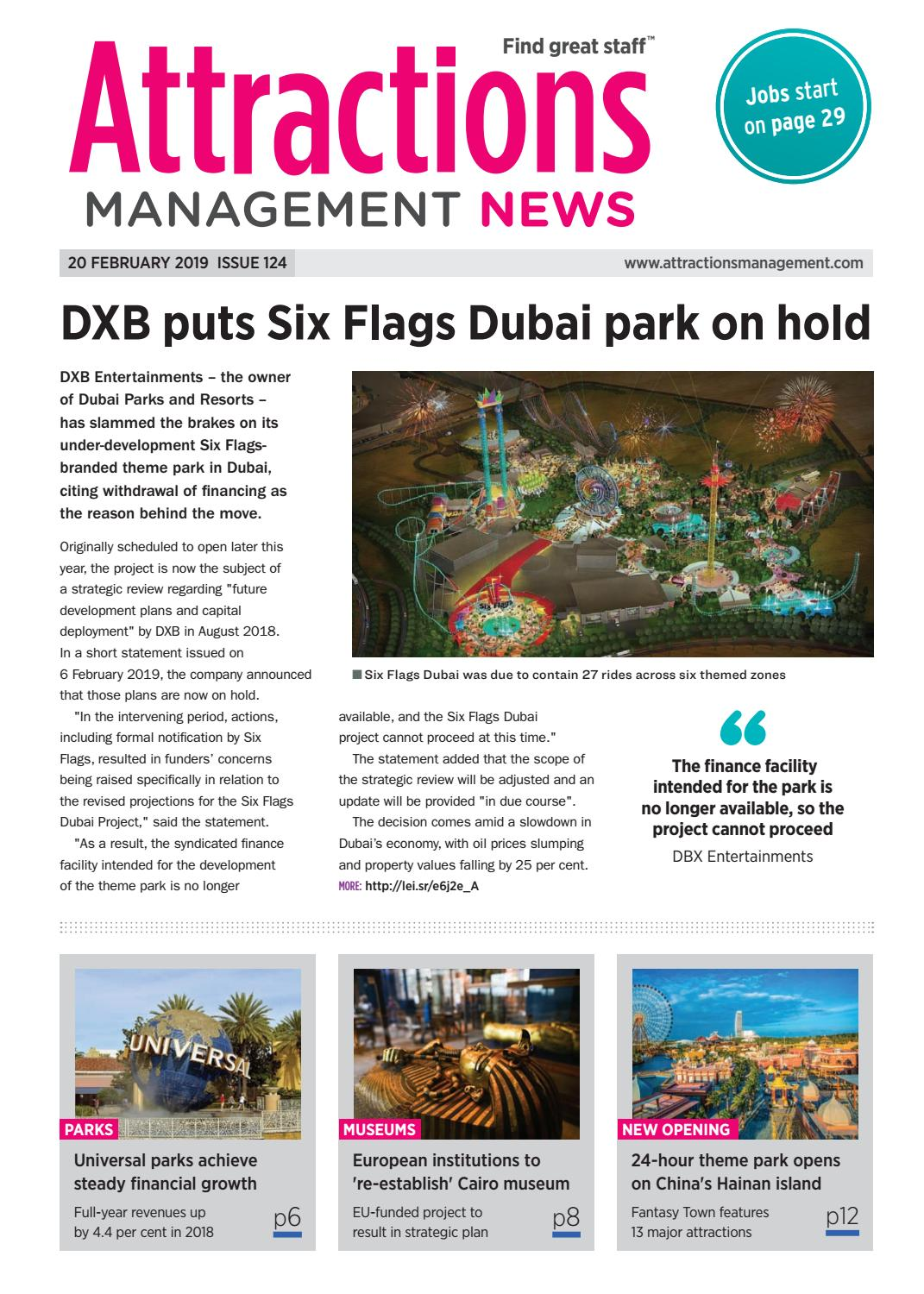 Attractions Management News 20th February 2019 issue 124 by Leisure