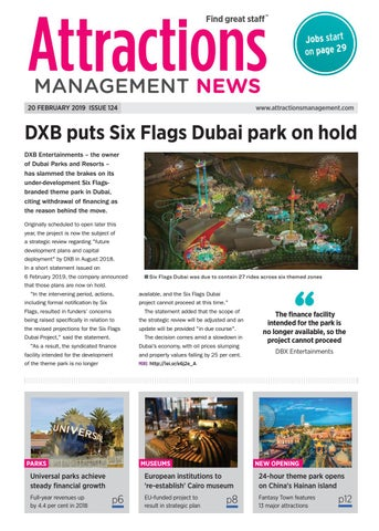 Attractions Management News 20th February 2019 issue 124 by