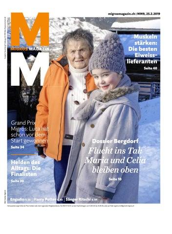 Migros Magazin 36 2019 d NE by Migros Genossenschafts Bund
