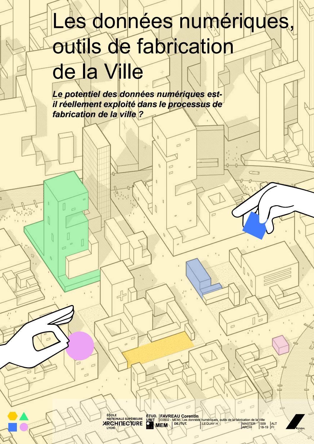 fabriquer un dos num rique Les données numériques, outils de fabrication de la Ville by Corentin  Favreau - issuu