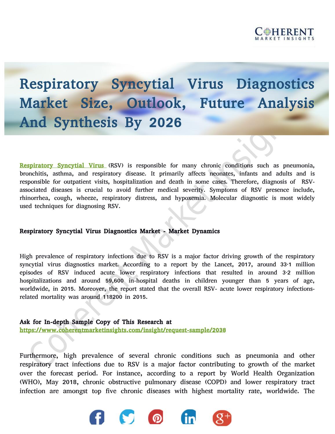Respiratory Syncytial Virus Diagnostics Market: Mention Of