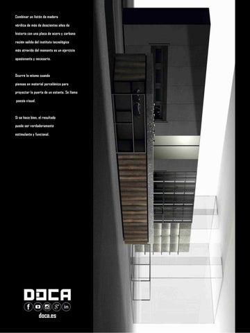 334e727f2f13 Combinar un listón de madera nórdica de más de doscientos años de historia  con una placa de acero y carbono recién salida del instituto tecnológico  más ...