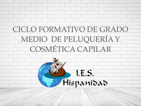 Grado Medio Peluquería Y Cosmética Capilar En Ies Hispanidad