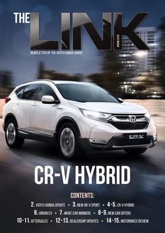 The Link Newsletter 2019 Vertu Honda