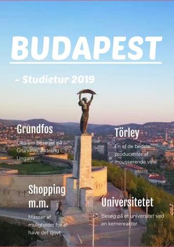 Studietur Budapest 17xvz By Thomas Jorgensen Issuu