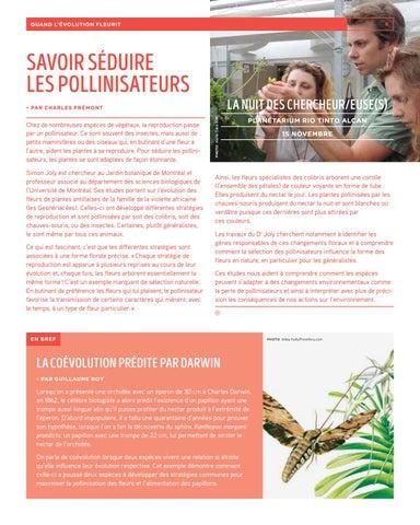 Page 6 of Savoir séduire les pollinisateurs