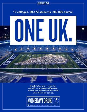 Page 19 of Philanthropy - One Day for UK