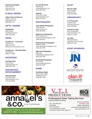 Page 29 of The Event Show 2018 Exhibitors