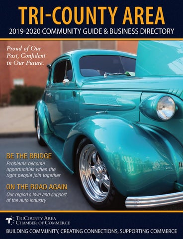 The 2019 2020 Tri County Area Community Guide Business Directory