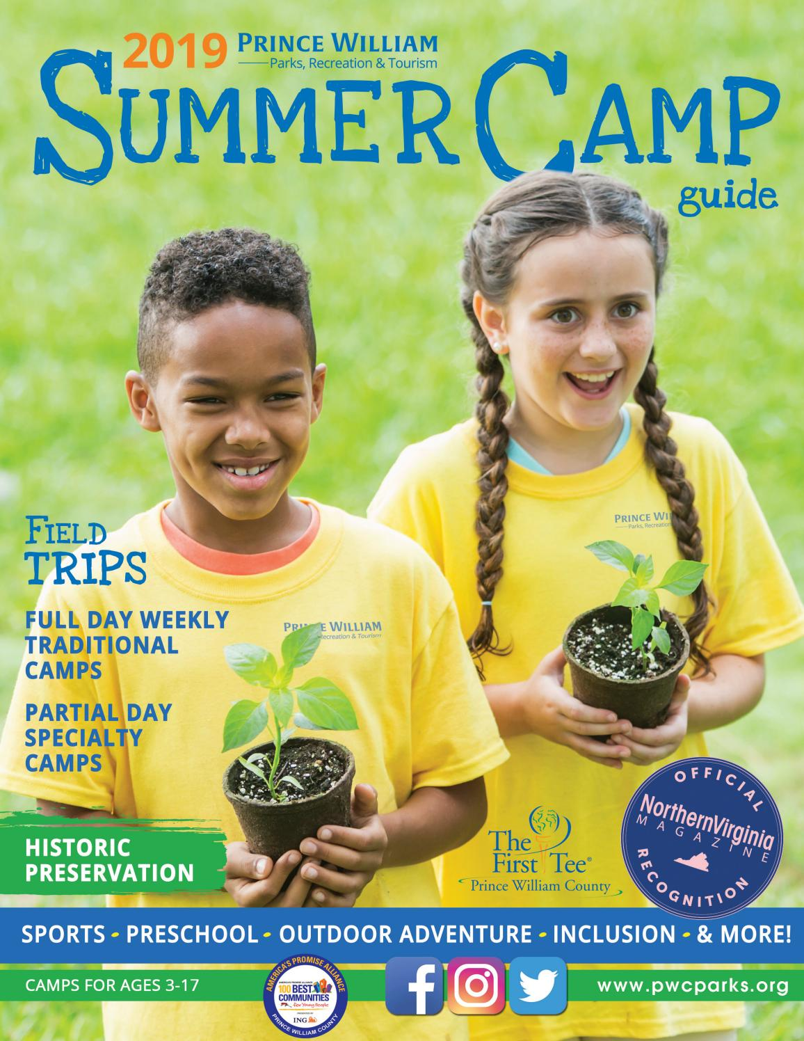 2019 Summer Camp Guide by pwcdpr - issuu