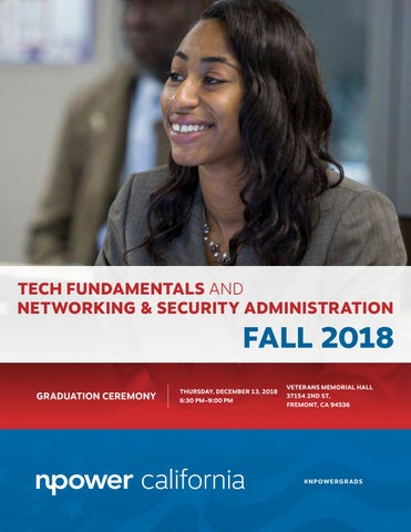 NPower California Tech Fundamentals and Networking & Security