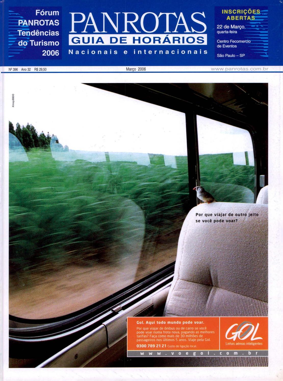 d5424cfb2ed3 Guia PANROTAS - Edição 396 - Março/2006 by PANROTAS Editora - issuu