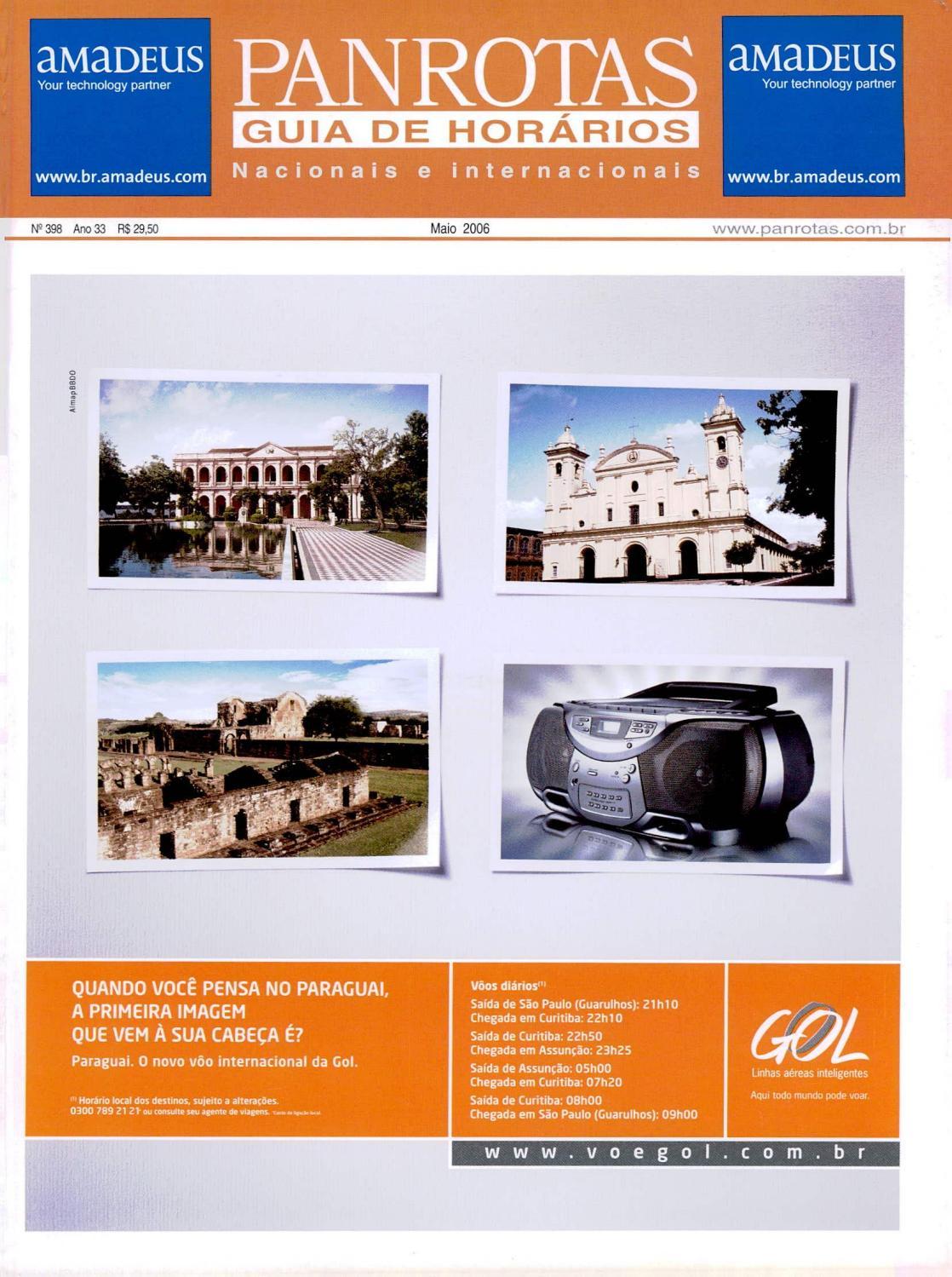 428eb5e19 Guia PANROTAS - Edição 368 - Maio/2006 by PANROTAS Editora - issuu