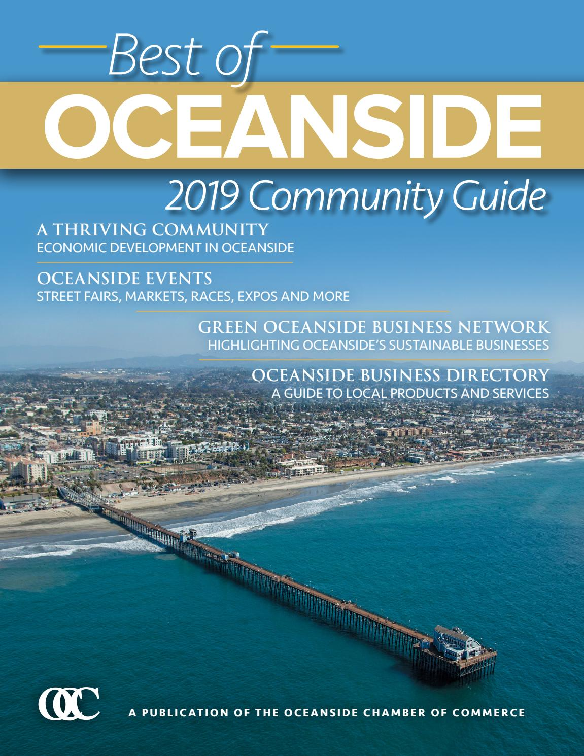 310870f92b 2019 Best of Oceanside Community Guide by Oceanside Chamber of Commerce -  issuu