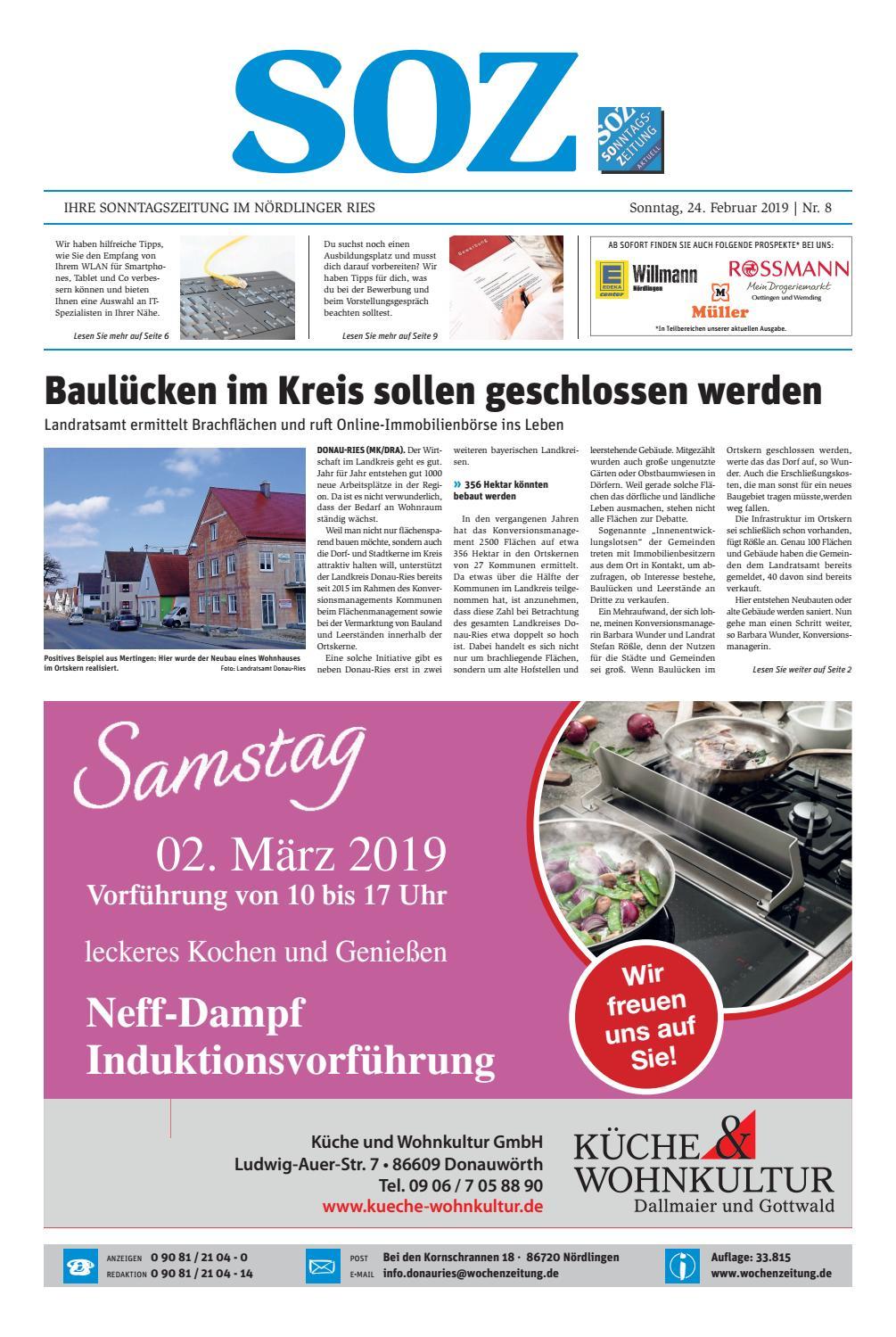 Media Markt Club Kartennummer Finden.Sonntagszeitung Nördlingen Kw 08 19 By Wochenzeitung