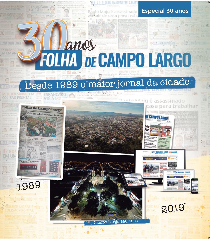 cbb3cca0f 30 anos Folha by Folha de Campo Largo - issuu
