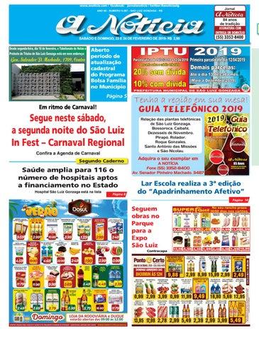 7338b32d8f383 Edição dia 23 e 24 de fevereiro de 2019 by Jornal A Notícia - issuu