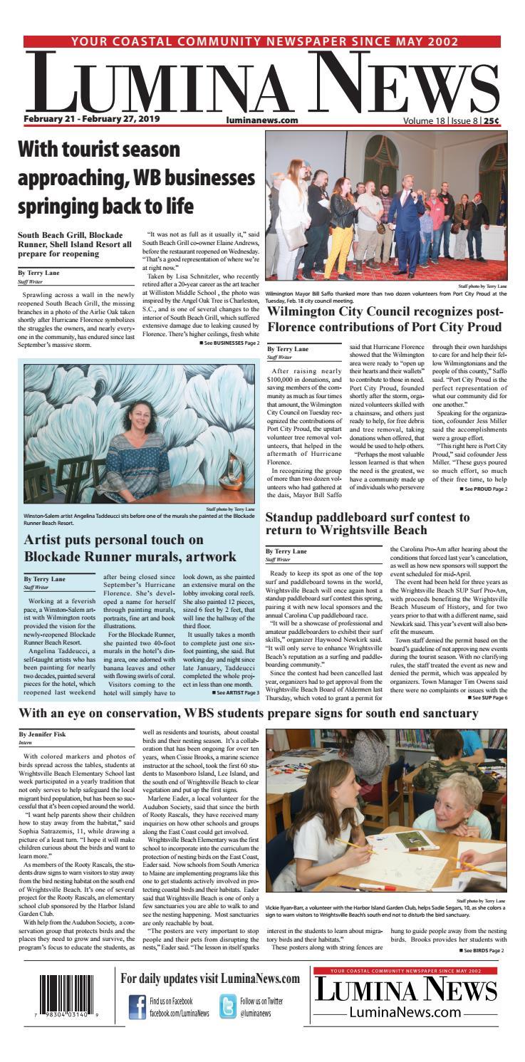 Lumina News, Feb  21, 2019 by Lumina News - issuu
