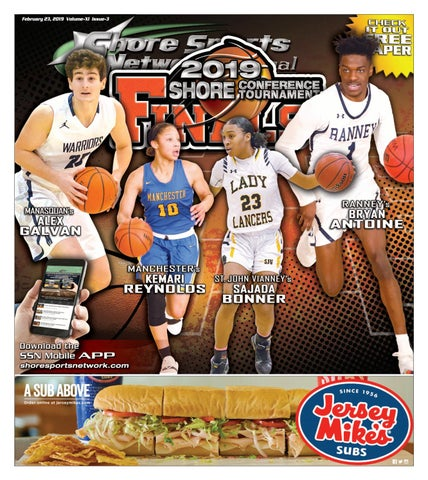 28f5bb094 2-23-19 Issue - 3 Volume XI SCT Finals Basketball Program by Shore ...