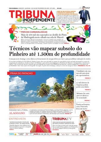 196f67d36 FIM DE SEMANA n MACEIÓ - ALAGOAS - 23 E 24 DE FEVEREIRO DE 2019 - Nº 3.339 -
