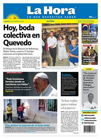 7eaca879d978 Los Ríos 23 de febrero de 2019 by Diario La Hora Ecuador - issuu