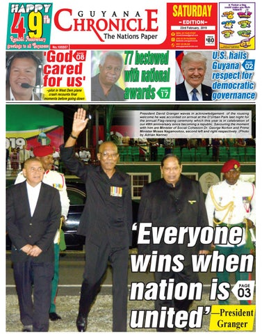 Guyana Chronicle E-paper 02-23-2019 by Guyana Chronicle E-Paper - issuu
