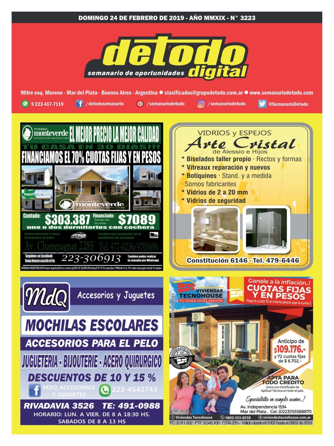 7e23074a3 Semanario Detodo - Edición N° 3223 - 24/02/2019 by Semanario Detodo - issuu