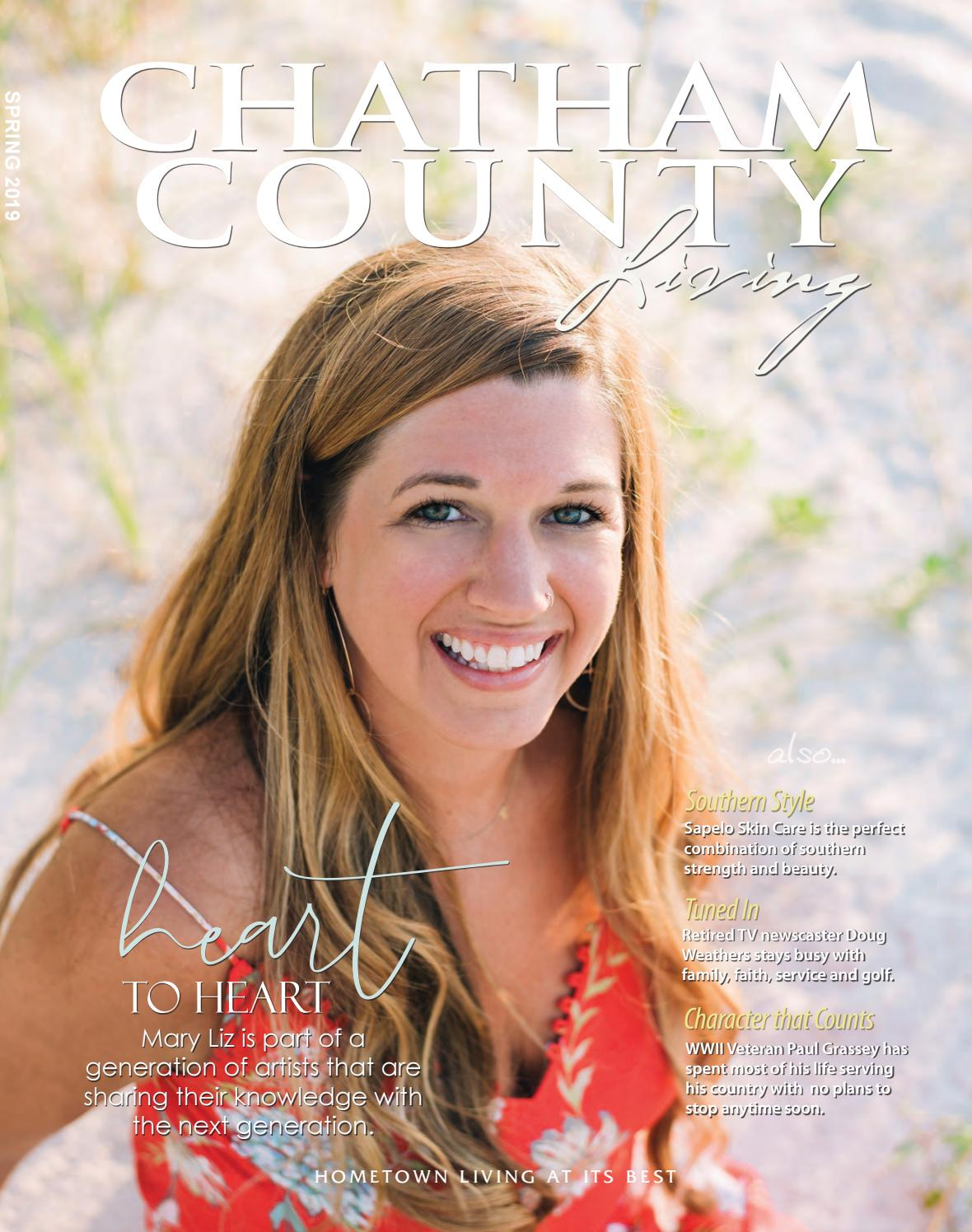 Chatham County Living - Spring 2019 by With You In Mind