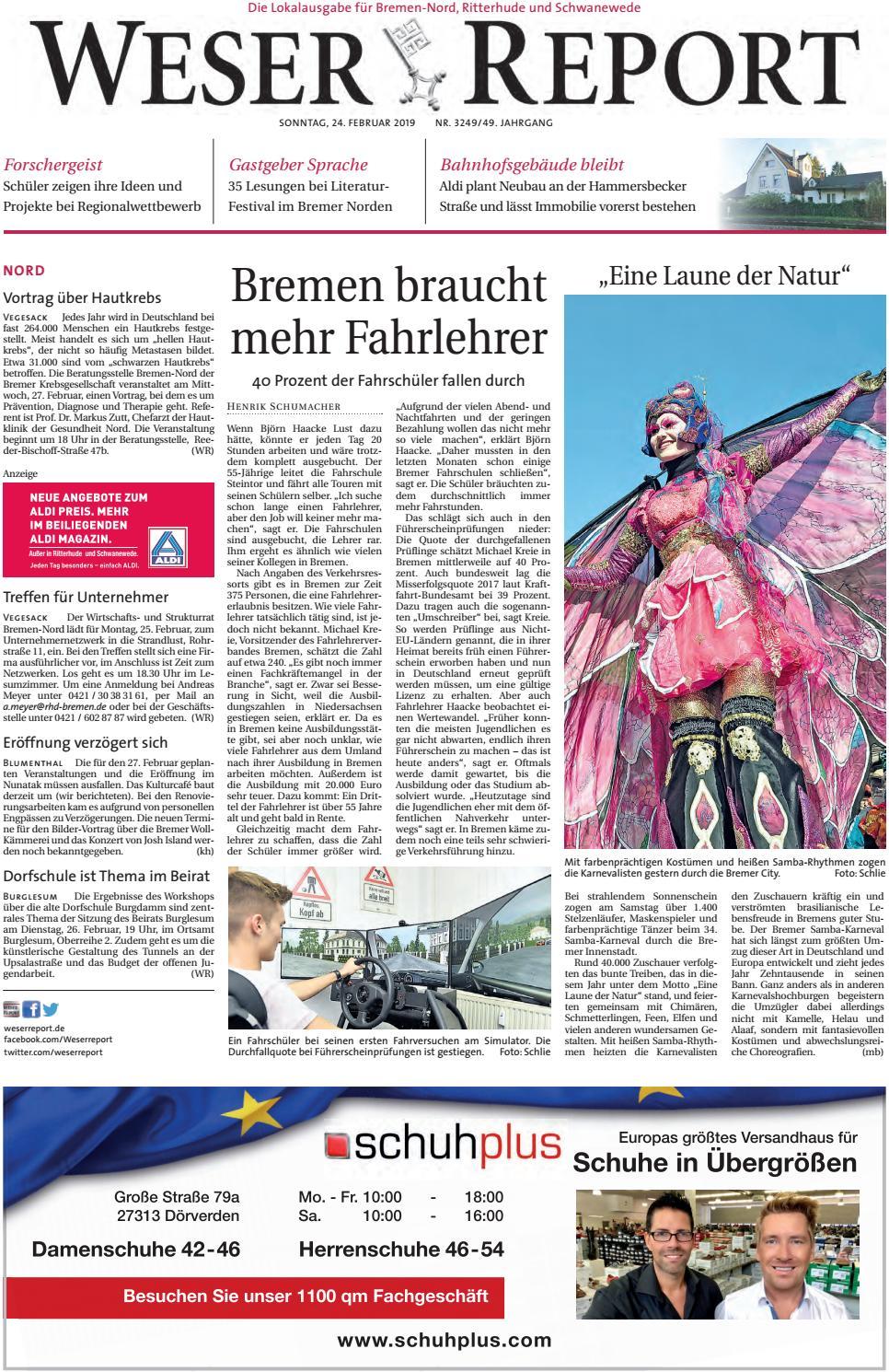 Weser Report Nord Vom 24 02 2019 By Kps Verlagsgesellschaft Mbh