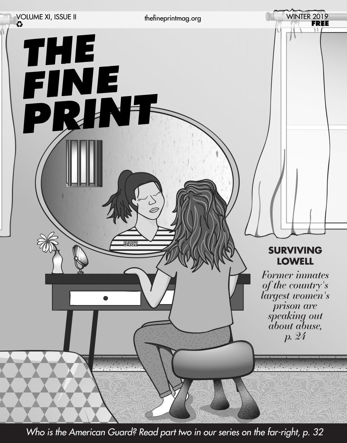 The Fine Print, Winter 2018 by The Fine Print - issuu