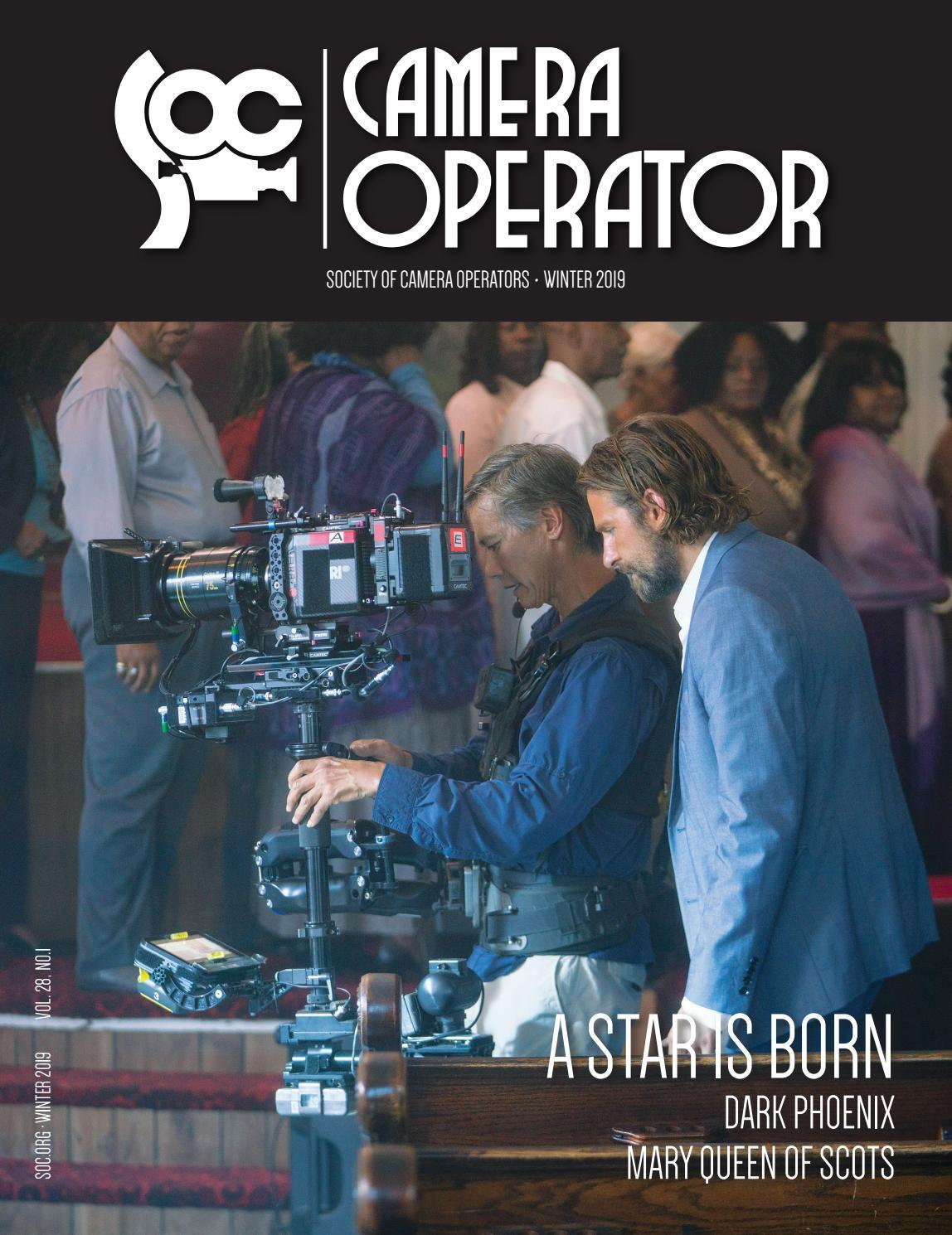 Camera Operator: Winter 2019 by Society of Camera Operators