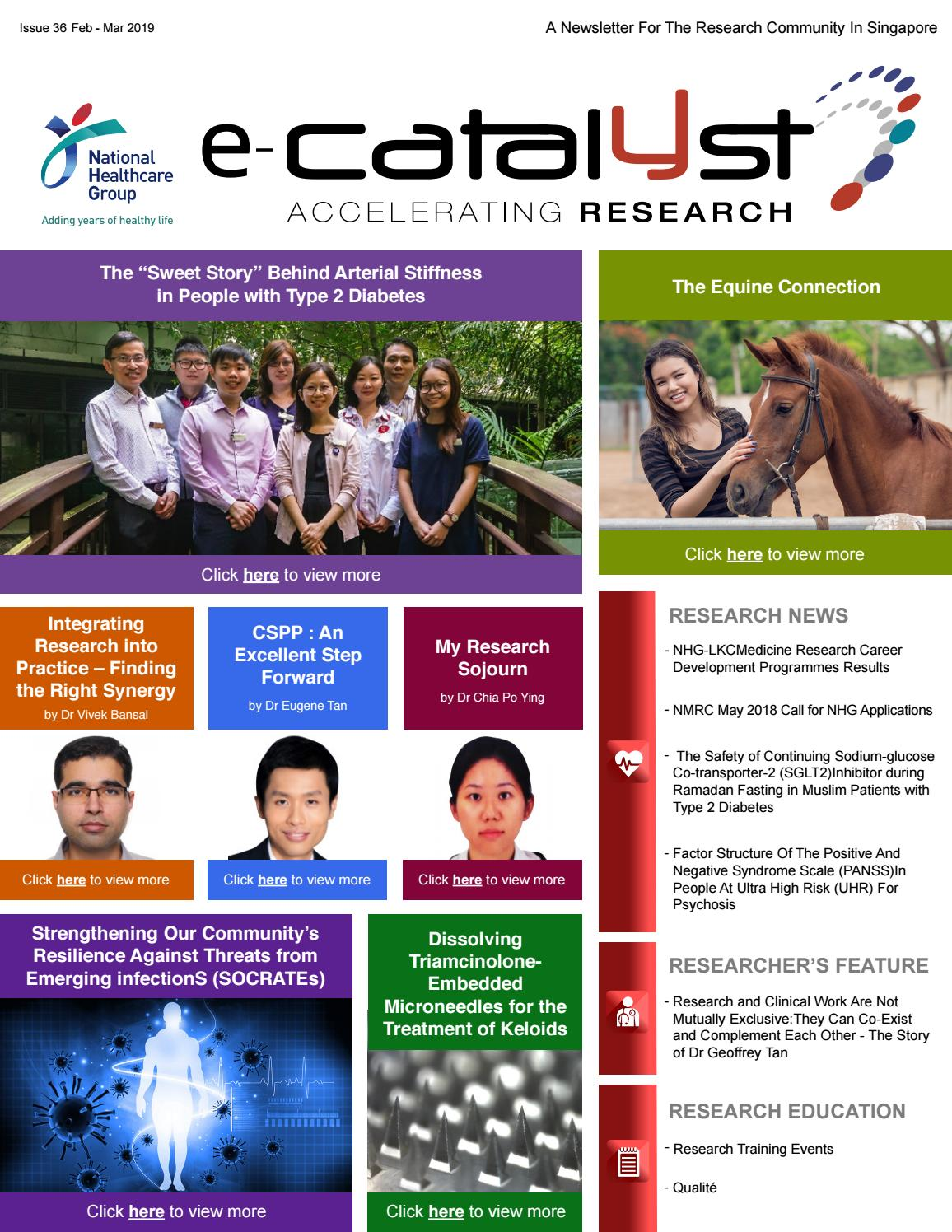 NHG e-Catalyst Issue 36 by e-Catalyst - issuu
