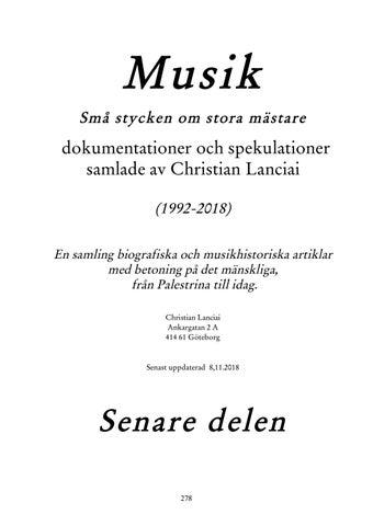 Musikomplett2 by Christian Lanciai - issuu 8f27f52b7917a