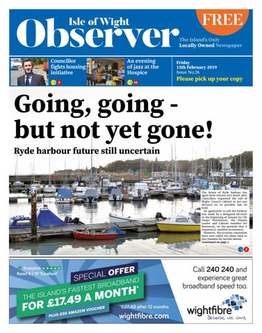 Isle of Wight Observer Issue 26 by Isle of Wight Observer