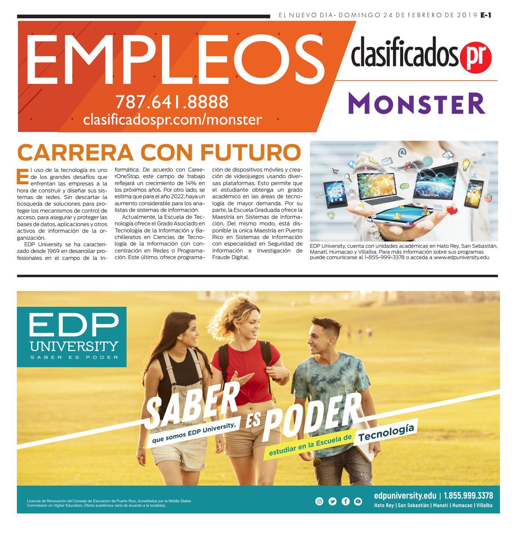 Empleos 02 24 2019 by ClasificadosPR com - issuu