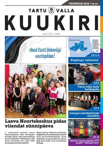 dd64c96bb74 Tartu Valla Kuukiri (246) Veebruar 2019 by Tartu Valla Kuukiri - issuu