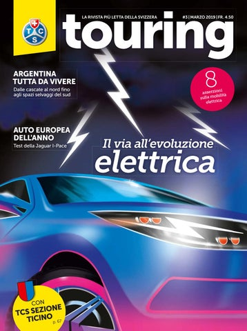 de00c79f7b Touring 12 / 2018 & 1 / 2019 italiano by Touring Club Schweiz Suisse ...