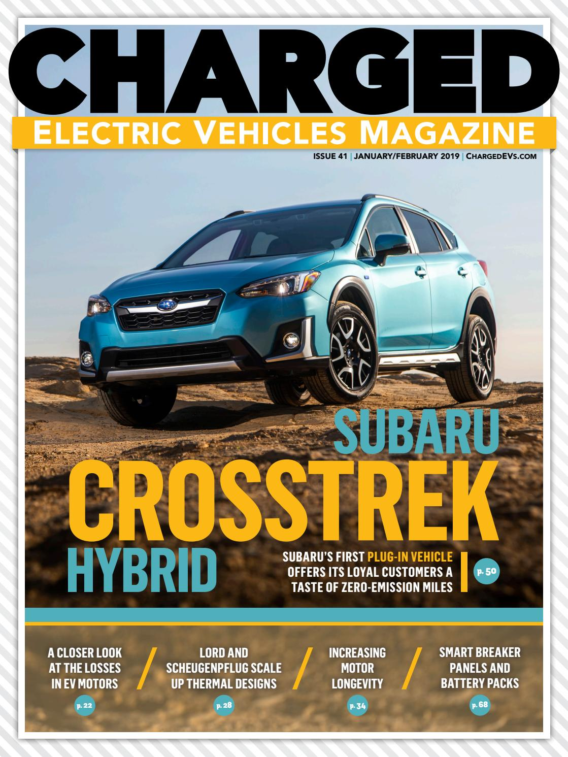Charged Electric Vehicles Magazine Issue 41 Jan Feb 2019