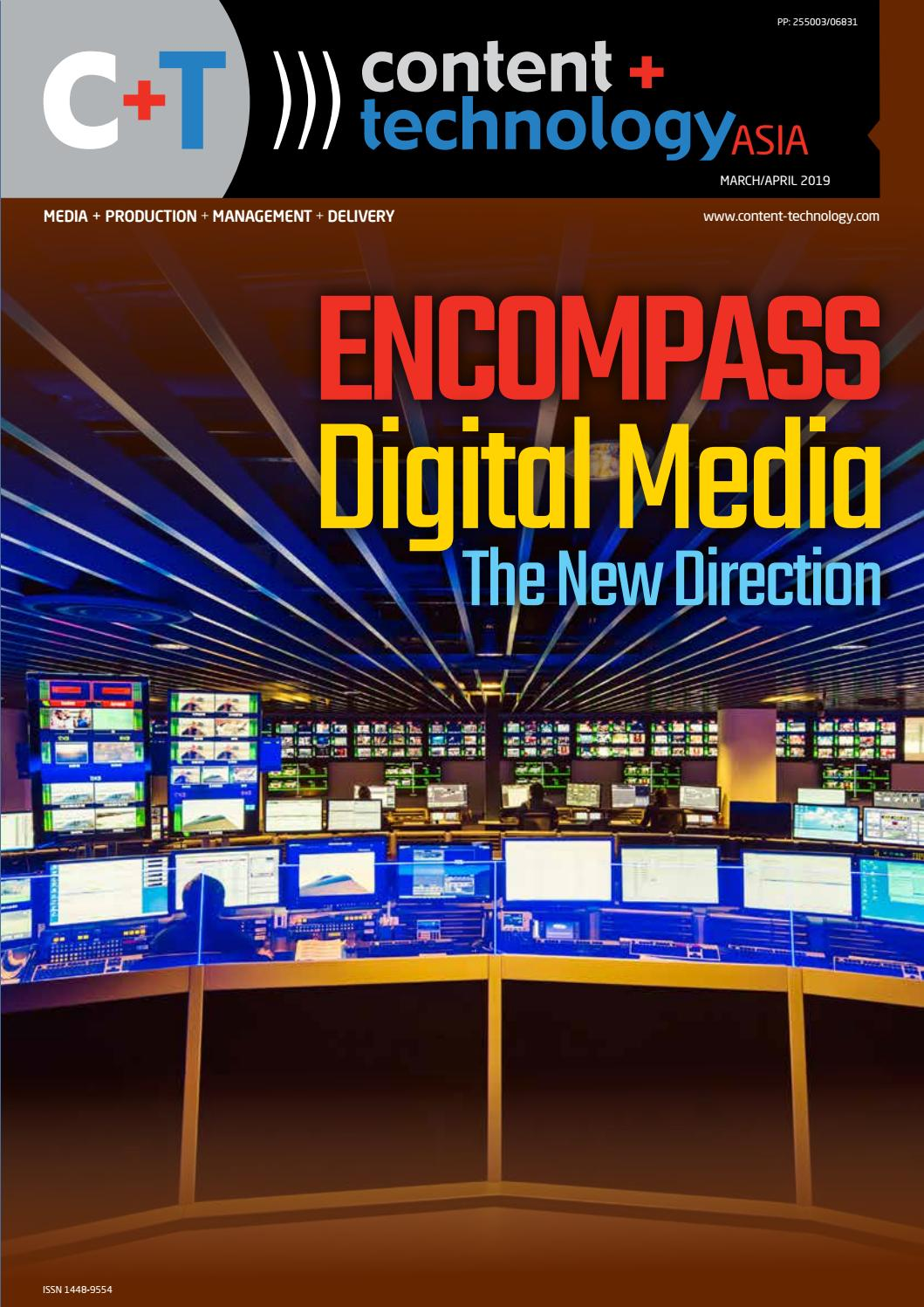 Content+Technology ASIA - March-April 2019 by